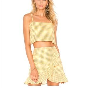 Lovers and friends gingham set